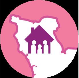 Presqu'île en rose