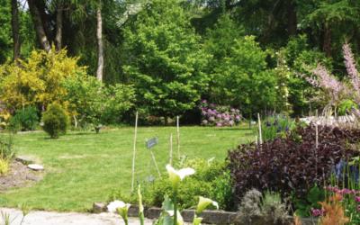 Visite de jardin au profit de l'association Presqu'île en rose