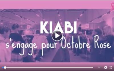 Vidéo défilé de mode chez Kiabi pour Octobre Rose