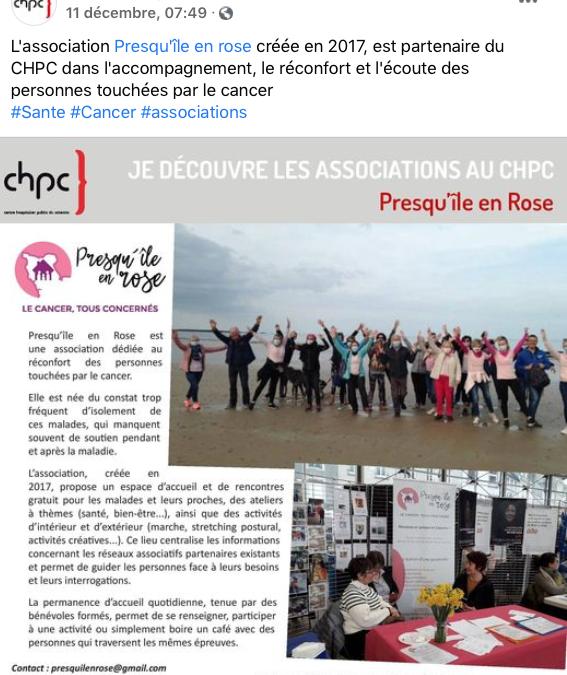 Partenariat avec le CHPC
