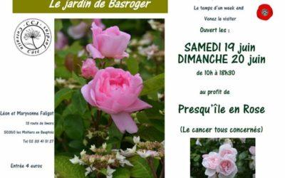 Visite du jardin de Basroger