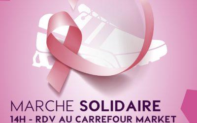 Octobre Rose : Marche solidaire le samedi 23 octobre 2021